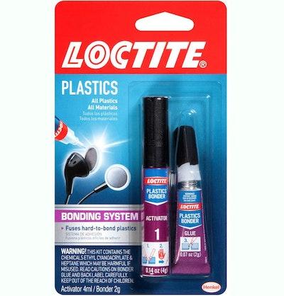 Loctite Super Glue Plastics Bonding System (.14 Ounces)