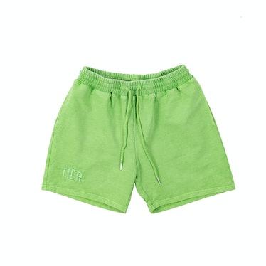 Tier NYC Pistachio Tiér Shorts