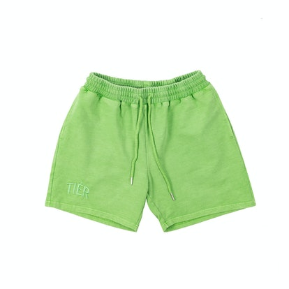 Tier NYC Pistachio Tiér Shorts
