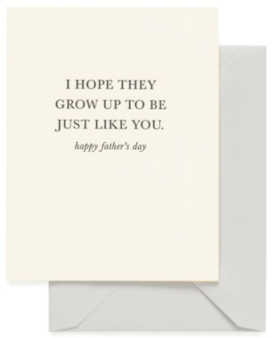 Just Like You - Dad card