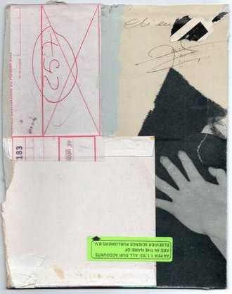 Untitled Collage by Armand Brac