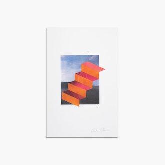 Stair Surviving in A Desert by Gabrielle Teschner