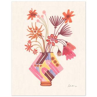 Fiori Art Print by Justina Blakeney