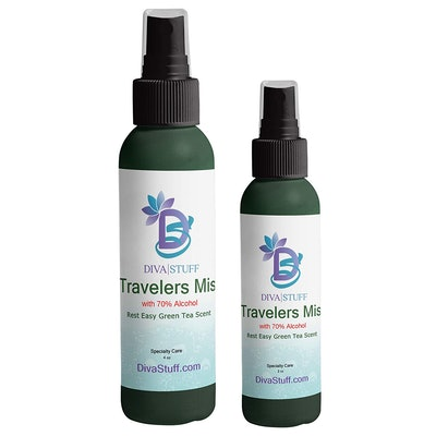 Diva Stuff Travelers Mist with Alcohol Combo Pack