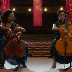 Lizzie (Logan Browning) and Charlotte (Allison Williams) in 'The Perfection' via the Netflix press site.