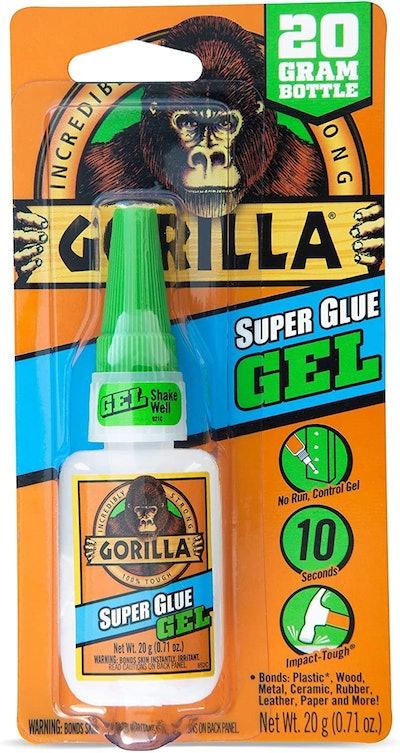 Gorilla Super Glue Gel (0.7 Ounces)