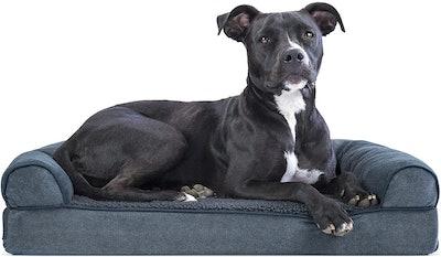 Furhaven Bolster Dog Bed