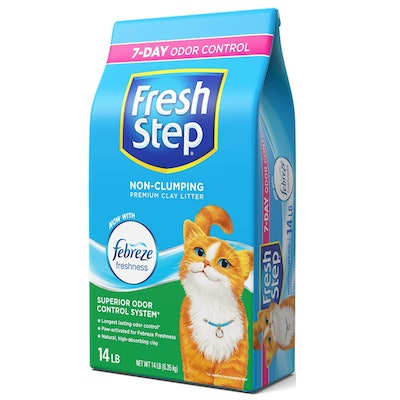 Fresh Step Non-Clumping Scented Cat Litter (14 Pounds)