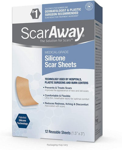 ScarAway Silicone Scar Sheets (12-Pack)