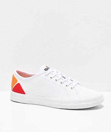 ellesse Tropea Leather White Shoes