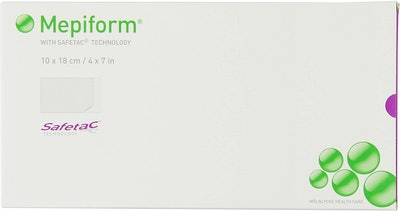 """Mepiform With Safetac Technology 4""""x7"""" (5-Pack)"""