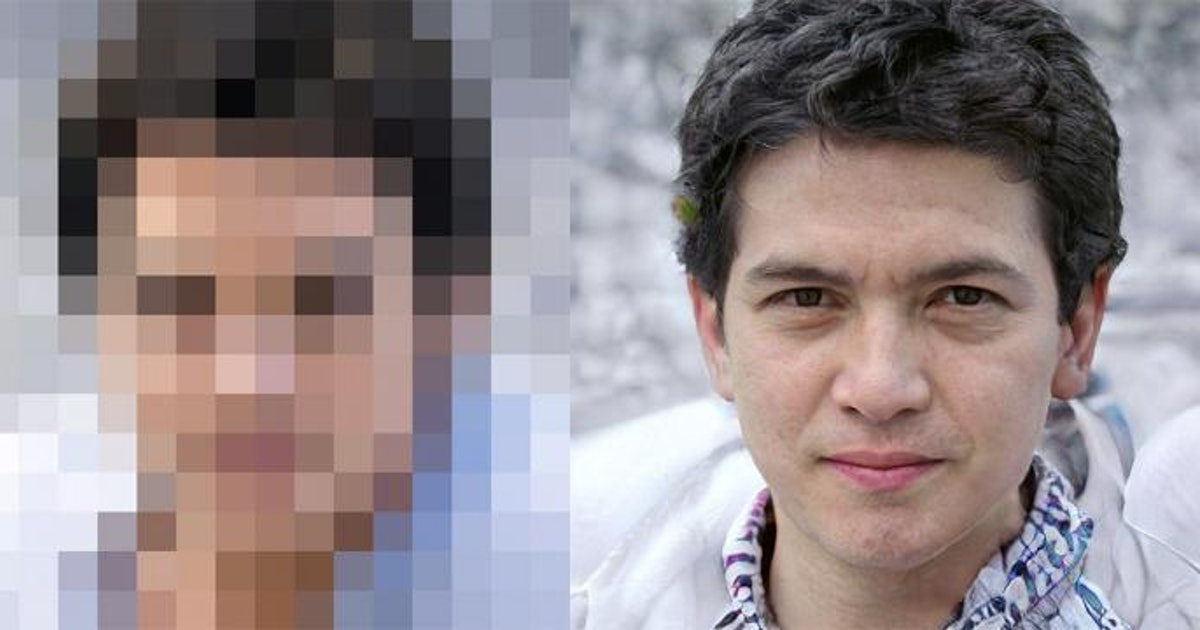This AI generates realistic human faces from pixelated images