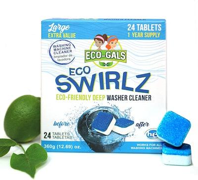 Eco-Gals Eco Swirlz Washing Machine Cleaner (24-Count)