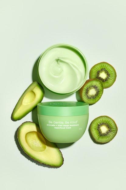 Briogeo's new Avocado + Kiwi Mega Moisture Superfood Mask