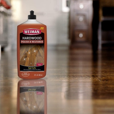 Weiman Wood Floor Polish and Restorer, 32 Oz.