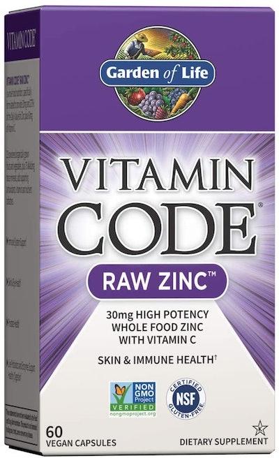 Garden of Life Vitamin Code Raw Zinc (60 Count)