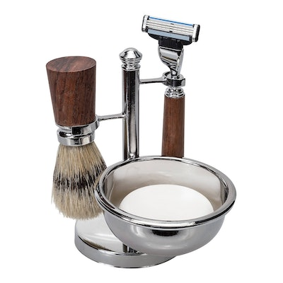 4-Piece Mach II Blade Men's Shave Set