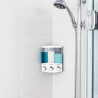 Better Living Products 3-Chamber Shower Dispenser