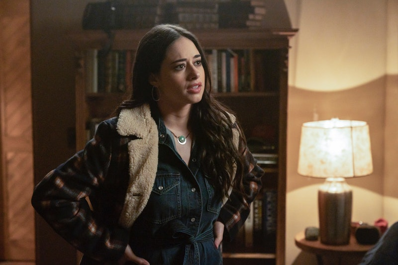 Liz in Roswell, New Mexico via the CW press site