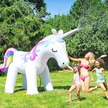 Giant Unicorn Sprinkler