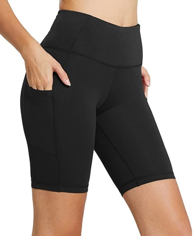 BALEAF High-Waisted Biker Shorts
