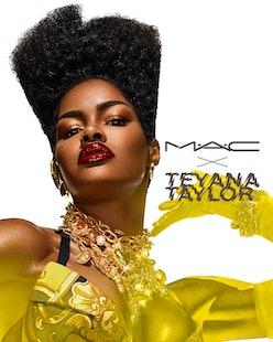 Upcoming Teyana Taylor x MAC Cosmetics collaboration