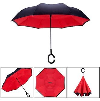ZOTIA Double Layer Inverted Reverse Umbrella