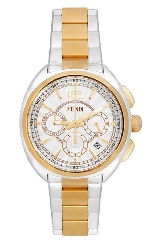 Silver & Gold Momento Watch