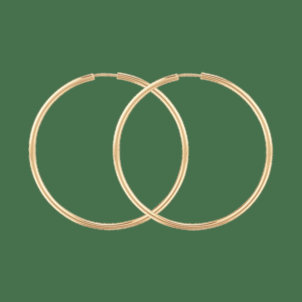 Oversized Thin Hoops