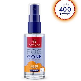 Optix 55 Anti-Fog Spray for Non-Reflective Lenses