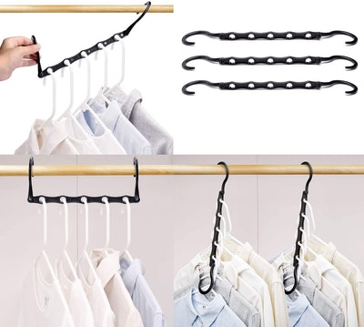 HOUSE DAY Space Saving Hangers (10-Pack)