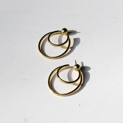 Sophie Buhai Double Layered Hoops