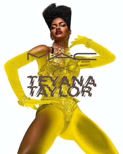 Teyana Taylor x MAC Cosmetics collaboration campaign image
