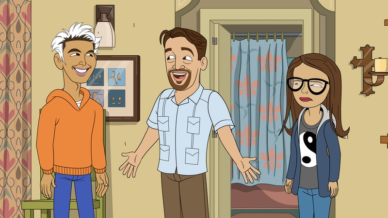 A special animated episode of One Day At A Time VIA Sony Media Relations mediabox