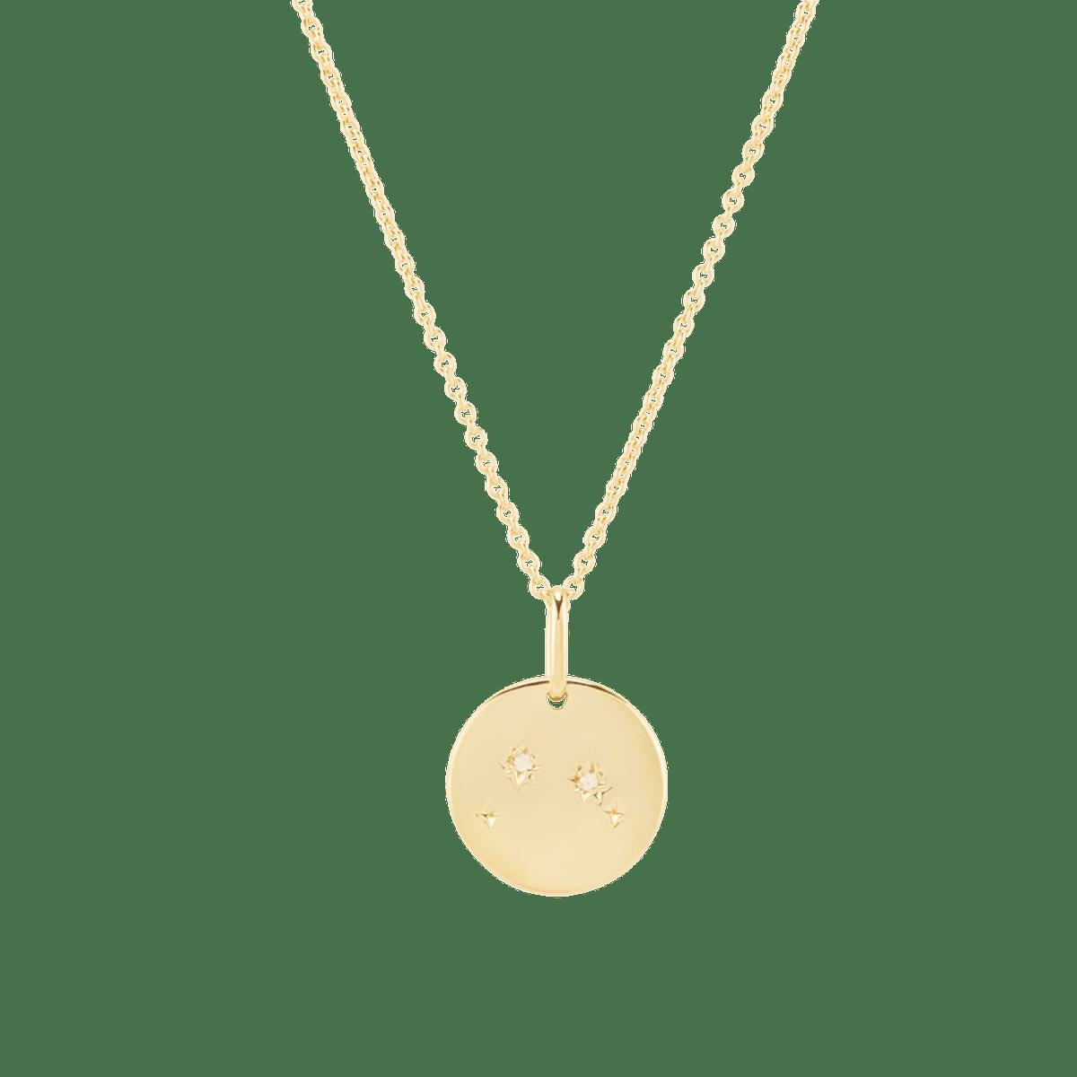 Aries Necklace Vermeil