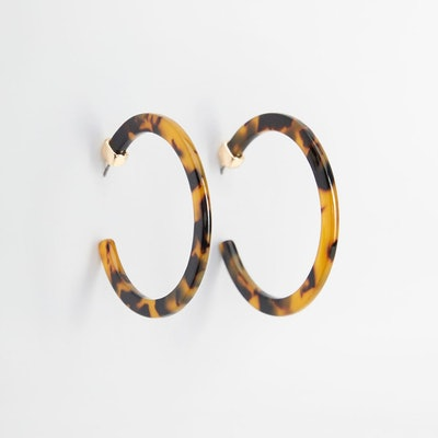 Mango Tortoiseshell Earrings