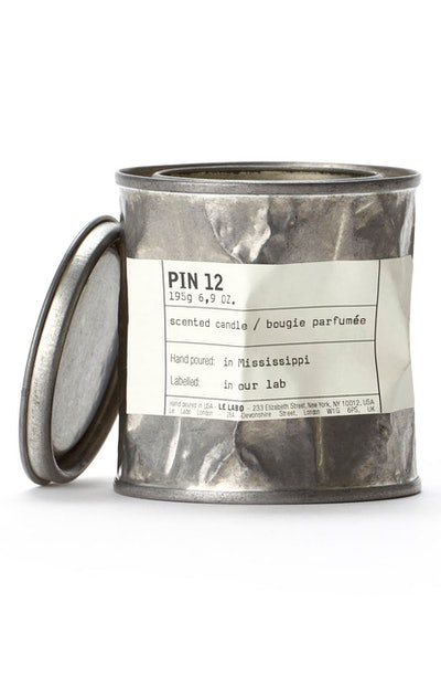 'Pin 12' Vintage Candle Tin