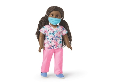 american girl #thankyouheroes scrubs outfit