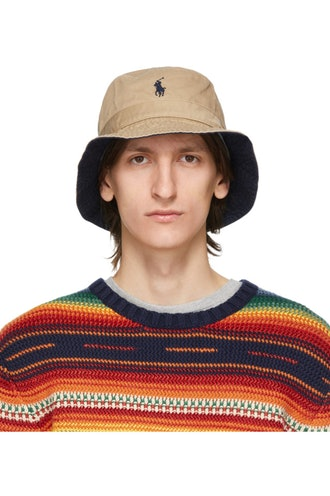 Khaki Chino Bucket Hat