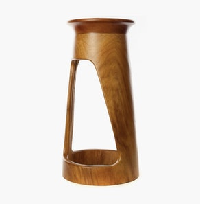 Tweneboa Wood Portal Side Table