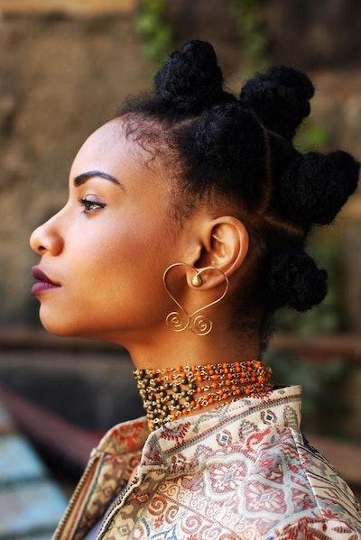 Beads by Aree Sankofa Studs