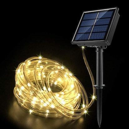 JosMega Upgraded Solar Powered String Rope Lights