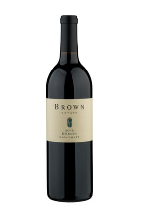 Brown Estate 2018 Merlot