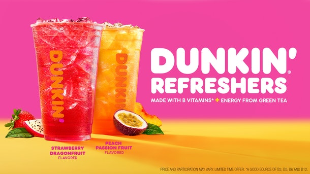 Dunkin's new Refreshers for summer 2020 are available beginning June 17.
