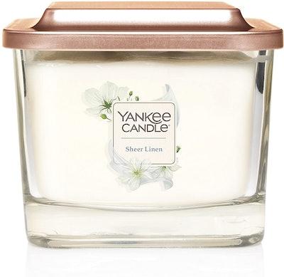 Yankee Candle Sheer Linen (12.5 Ounces