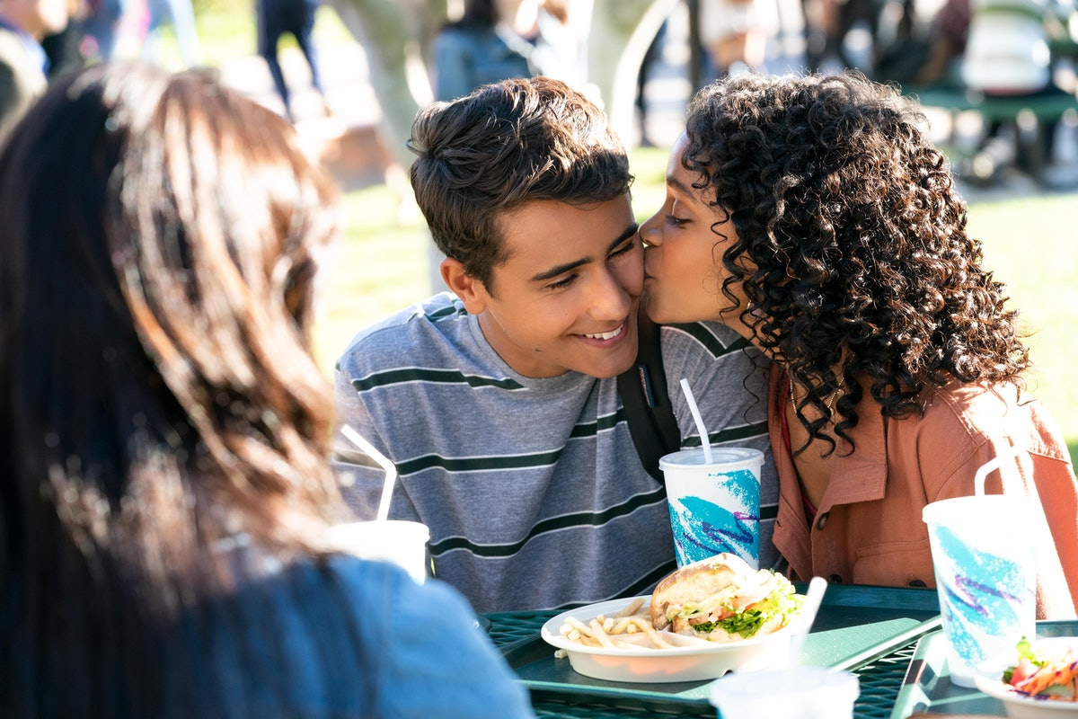 Victor and Mia in Hulu's 'Love, Victor'