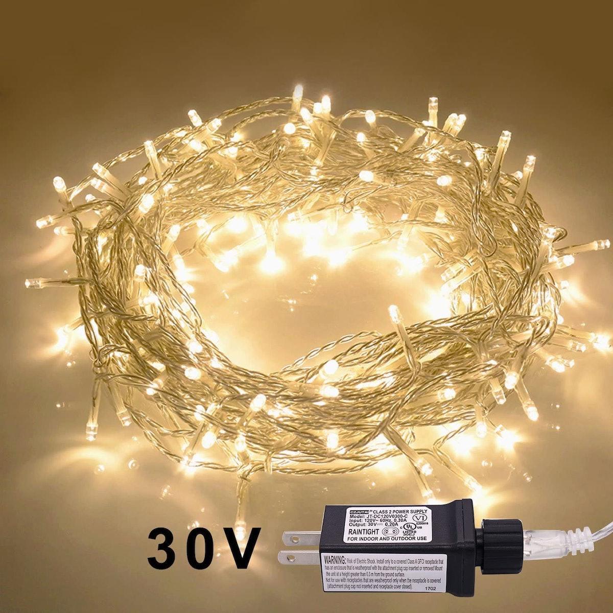 JMEXSUSS LED 42.6ft Indoor Outdoor Fairy String Lights