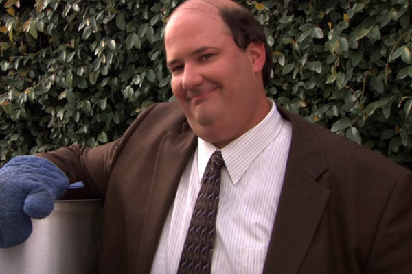 Kevin and his chili on 'The Office'