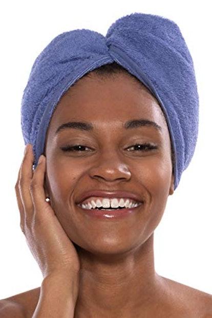 Texere Women's Bamboo Viscose Hair Towel