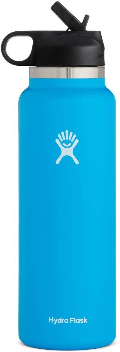 Hydro Flask Sports Bottle With Straw Lid